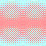 Halftone abstract background in rose and complement colors. Halftone abstract background of circular elements in rose and complement colors and in the direction Stock Image