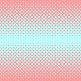 Halftone abstract background in rose and complement colors. Halftone abstract background of circular elements in rose and complement colors and in the direction Royalty Free Stock Image
