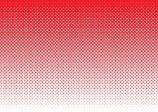 Halftone abstract rood als achtergrond vector illustratie