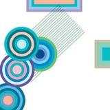 Halftone abstracte achtergrond stock illustratie