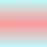 Halftone abstracte achtergrond in roos en aanvullingskleuren Stock Afbeelding