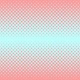 Halftone abstracte achtergrond in roos en aanvullingskleuren Royalty-vrije Stock Afbeelding