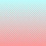 Halftone abstracte achtergrond in roos en aanvullingskleuren Stock Foto's