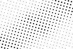 Halftone achtergrond Abstract geometrisch patroon met kleine vierkanten Ontwerpelement voor banners, affiches, kaarten, behang, p Royalty-vrije Stock Foto's
