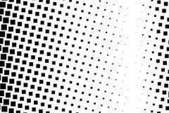 Halftone achtergrond Abstract geometrisch patroon met kleine vierkanten Ontwerpelement voor banners, affiches, kaarten, behang, p Royalty-vrije Stock Fotografie