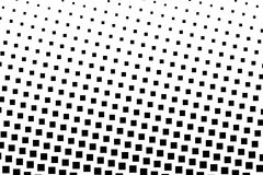 Halftone achtergrond Abstract geometrisch patroon met kleine vierkanten Ontwerpelement voor banners, affiches, kaarten, behang, p Royalty-vrije Stock Afbeeldingen