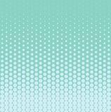 Halftone achtergrond met het verminderen punten Vector illustratie royalty-vrije illustratie