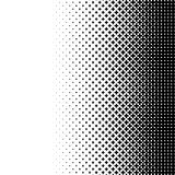 Halftone als element van kruisen Monochromatisch abstract beeld Royalty-vrije Stock Foto