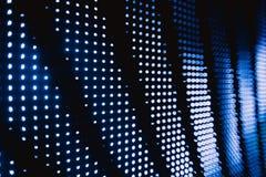 Halftone błękitni zamazani dowodzeni światła Obraz Royalty Free