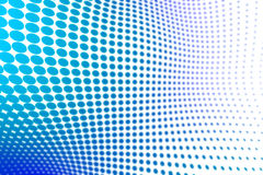 Halftone background. Blue wavy halftone abstract background vector illustration