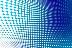 Halftone background. White & blue halftone like background Stock Photography
