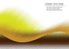 Halftone background Royalty Free Stock Photography