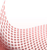 Halftone background. Vector illustration with space for text or logo Stock Photos