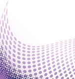 Halftone background. Vector illustration with space for text or logo Royalty Free Stock Photography
