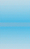 Blue halftone background. Illustration of abstract blue and white halftone background Stock Photos