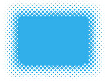 Halftone background - Blue Stock Photo
