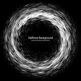 Halftone Background Circle1 Stock Image