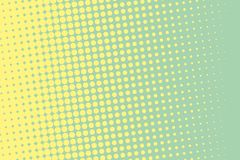 Halftone Background. Comic Dotted Pattern. Pop Art Retro Style  Stock Photo