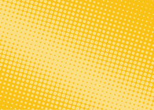 Halftone background. Comic dotted pattern. Pop art retro style. Royalty Free Stock Images