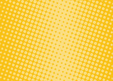 Halftone background. Comic dotted pattern. Pop art retro style. Stock Image