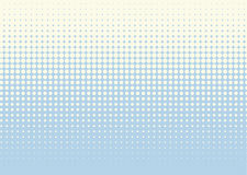 Halftone background. Comic dotted pattern. Pop art retro style. Backdrop with circles, rounds, dots, design element for web banners, posters, cards, wallpapers Royalty Free Stock Images