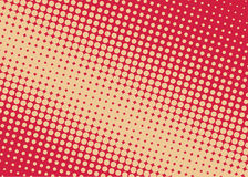 Halftone background. Comic dotted pattern. Pop art retro style. Backdrop with circles, rounds, dots, design element for web banners, posters, cards, wallpapers Royalty Free Stock Photo