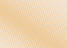 Halftone background. Comic dotted pattern. Pop art retro style. Backdrop with circles, rounds, dots, design element for web banners, posters, cards, wallpapers Royalty Free Stock Photos