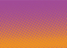 Halftone background. Comic dotted pattern. Pop art retro style. Backdrop with circles, rounds, dots, design element for web banners, posters, cards, wallpapers Stock Photo