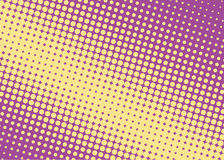 Halftone background. Comic dotted pattern. Pop art retro style. Stock Images