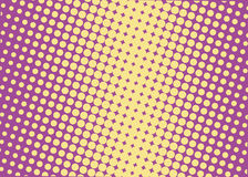 Halftone background. Comic dotted pattern. Pop art retro style. Backdrop with circles, rounds, dots, design element for web banners, posters, cards, wallpapers Royalty Free Stock Photography