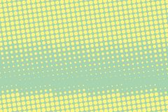 Halftone background. Comic dotted pattern. Pop art retro style.  Royalty Free Stock Photos