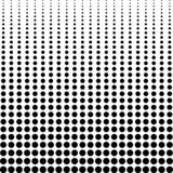 Halftone background, decreasing black dots vertically, vector halftone background comics or manga. Halftone background, decreasing black dots vertically, vector vector illustration