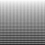 Halftone. Background with dots of different size. Spotted Circles Overlay Dots Texture Stock Photos