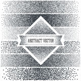 Halftone Background with  Dots. Dotwork Engraving Royalty Free Stock Image