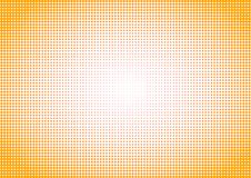 Halftone background dotted yellow vintage royalty free stock photography