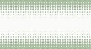 Halftone background with pastel green color Stock Images
