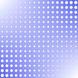Halftone background pop art style white dots color on blue background design element for web banners, posters, cards, Wallpaper, b. Ackdrops, labels, sites Stock Image