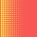 Halftone background pop art style yellow dots color design element for web banners, posters, cards, Wallpaper, backdrops, labels, Royalty Free Stock Photo