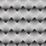 Halftone  background seamless pattern Royalty Free Stock Photo