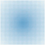 Halftone background template Stock Image