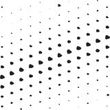 Halftone background template Stock Photos