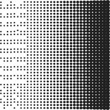 Halftone background template Stock Photography