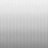 Halftone Background. Vintage Points Backdrop. Distressed Black a royalty free stock images