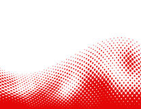 Halftone background wave Royalty Free Stock Photos