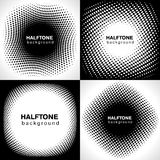 Halftone Backgrounds Stock Image
