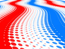 Halftone Bakground. Abstract halftone backgroung 3D render Stock Images