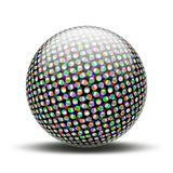 Halftone ball Stock Images