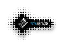 Halftone Banner Stock Photography
