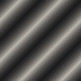 Halftone bezszwowy wzór, okręgi & kropki, przekątna wykładamy ilustracja wektor