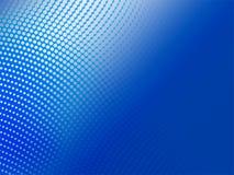 Halftone blauwe abstracte achtergrond Stock Afbeeldingen